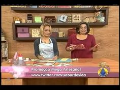 Lê Arts Artesanatos - Caixa de Costura para Bolsa - Sabor de Vida - 14/5/12