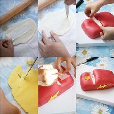 lightning McQueen cake tutorial