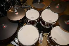 Diy Drums, Drum Sets, Electric, Music Instruments, Rock, Percussion, Musical Instruments, Skirt, Locks