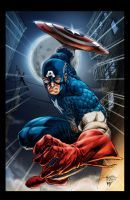 Captain America   Precommission By Edtadeo-Colored by royhobbitz