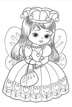 #раскраски@oboi_raskraski Раскраски для маленьких принцесс - Рукоделие