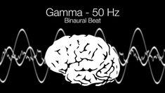 'Intense Focus' Gamma Binaural Beat - 50Hz (1h Pure) - YouTube