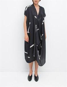 Creatures of Comfort Cara Dress Clue Black