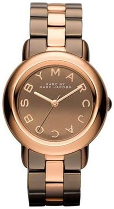 Marc Jacobs Marci Mirror Brown Dial Two-Tone Steel Ladies Watch MBM3171: Watches: Amazon.com