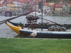 ポルトガルの舟と鳥 Travel Photos, Boat, Dinghy, Travel Pictures, Boats, Ship