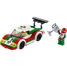 Indulge your child's competitive spirit with the LEGO City Race Car Set! Race Car Sets, Race Cars, Lego City Sets, Lego Sets, Lego Party Games, Lego For Sale, Van Lego, Lego Building Sets, Lego Duplo