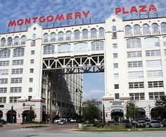 Montgomery Plaza is a shopping mall and luxury condominium project located on W. Street just west of downtown Fort Worth, Texas. Great Places, Places To See, Dallas, Hobby World, Texas Pride, Fort Worth Texas, Texas History, Texas Travel, City