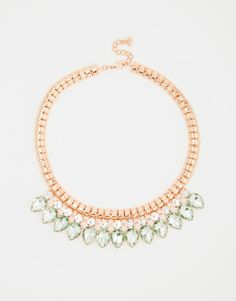 Image 1 ofTed Baker Pear Drop Necklace