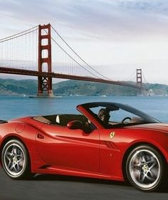 Home Sweet Home! The Ferrari California on California breeze from San Francisco Bay... #Stunning #GoldenGate #Spon. Hit the image to see the full pic... http://www.ebay.com/motors/garage/profile/10510796/2014-Ferrari-California?roken2=ta.p3hwzkq71.bdream-cars