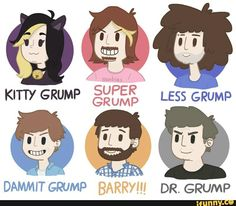 """Oml """"Dr Grump"""" idk why that cracks me up so much - Oh Damn, It's Me, Sam!"""