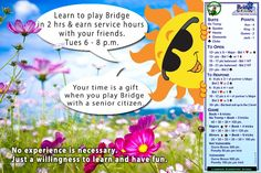 Play Bridge. Fight Alzheimer's!