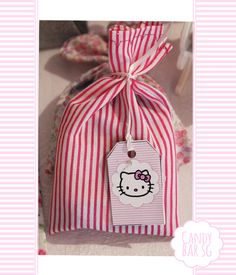 CANDY BAR HELLO KITTY, DECORACION HELLO KITTY, SHABBY CHIC