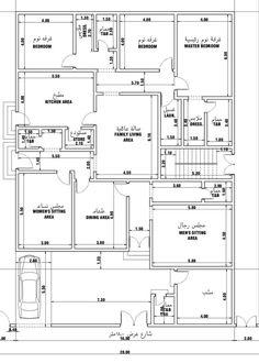 مخططات دور ارضي , تصميم و رسومات للطابق الاول - الغدر والخيانة House Layout Plans, Family House Plans, New House Plans, House Layouts, Home Design Floor Plans, Plan Design, Architectural Floor Plans, House Design Pictures, Plans Architecture