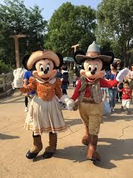 Image result for Mickey and Minnie Mouse on the teacups ride