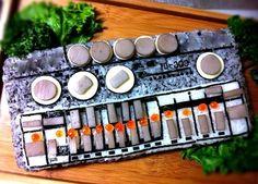 #sushi #sashimi #synth #tb-303 #Roland very #fresh