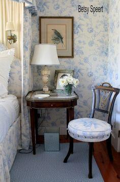 Betsy Speert's Blog: Cottage Bedroom Details