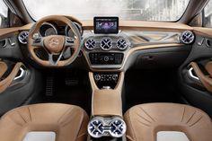 Wir präsentieren die coupéhafte Evolution des SUV Segments: Concept GLA!