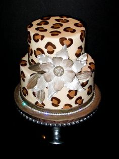 Cheetah Cake!! I want this cake to for my Bday!!!!!