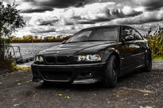 BMW E46 M3 by the water by Tr3ndline  Via Flickr:  2001 BMW E46 M3 color: OrientBlau