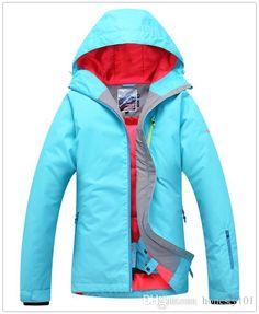 1ddbd1e43a 2019 Gsou Snow Womens Pure Blue Green Rose Ski Jacket Snowboarding Jacket  Women Skiwear Waterproof 10K Thermal Top Quality Free Ship From Honesty101