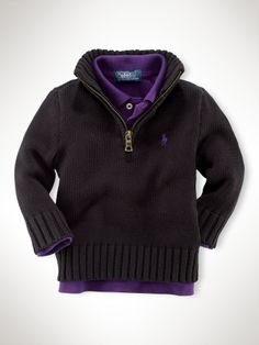 ralph lauren baby boys sweaters are where it's at.. $40