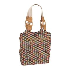 JulieApple Tall Tale Tote tote bag in Confetti. Our version of the catch-all carry-all tote. $88
