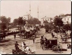 ✿ ❤ Bir zamanlar İSTANBUL,  Dolmabahçe  (1890'lar).