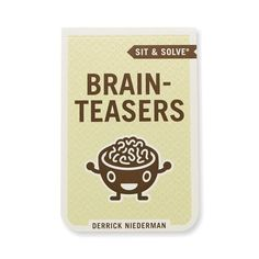 Sit and Solve® Brain Teasers