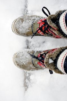 If only it actually snowed around here,I would totally own these boots