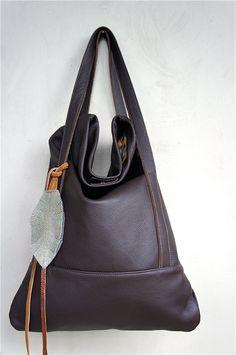 Chocolate Brown Leather handbag