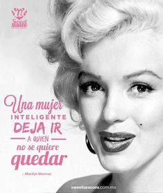 Frases de Marilyn Monroe Marilyn Monroe Frases, Marylin Monroe, Norma Jeane, Power Girl, Super Quotes, Spanish Quotes, Powerful Women, Woman Quotes, Old Hollywood