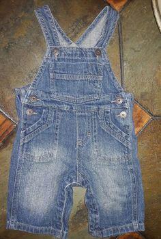 Girls' Clothing (newborn-5t) Lovely Oshkosh Jean Jacket Blue Dark Ocean 24m Snap Closure Light Weight Flower Detail Clothing, Shoes & Accessories