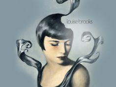 Louise Brooks Wallpaper   Louise Brooks LB