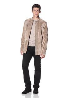 ZILLI Men's Nelson Jacket (Beige) | TIEASY.net