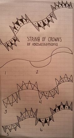 Tangle: string of crowns