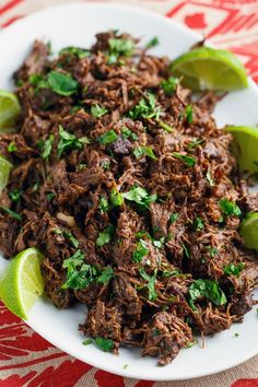 Barbacoa Tacos...seriously n fantastically de-li-cious...full of flavours. Thank you Kevin for the recipe!