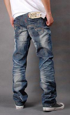 Levi's men's grinding white denim jeans