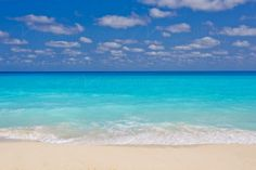 """""""Cancun Paradise"""" tropical mural.  What a beautiful mural for any #beach lover!"""