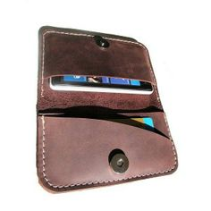 df4294cb3b Leather Handmade Wallet This wallet is handmade from a soft brown cow  leather. Perfect and