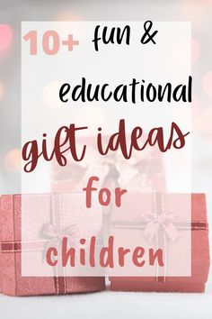 #Christmas gift ideas for kids that are fun & educational Christmas Gift Guide, Best Christmas Gifts, Christmas Fun, Holiday Gifts, Cool Gifts, Diy Gifts, Best Gifts, Awesome Gifts, Educational Christmas Gifts