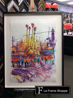 25 Best Watercolours Custom Framing Ideas Images Custom Framing