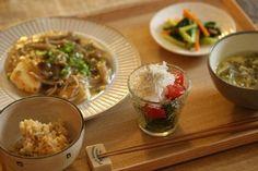 【マタニティごはん・豆腐ステーキの献立、ひまわりオイル】 : 中原美香子オフィシャルブログ「おいしい毎日しあわせごはん」