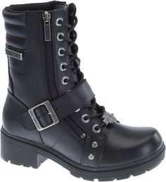 A women s leather lace-up boot, Harley-Davidson Footwear Talley Ridge is a 52fa8ca862