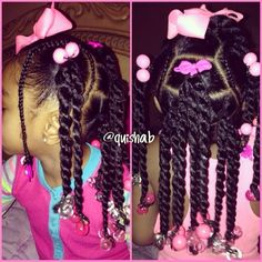◀Previous Post Next Post▶ Kids hairstyle(twist) – Looking for affordable hair extensions to refresh your hair look instantly? Cute Little Girl Hairstyles, Black Kids Hairstyles, Little Girl Braids, Baby Girl Hairstyles, Natural Hairstyles For Kids, Kids Braided Hairstyles, Braids For Kids, Girls Braids, Toddler Hairstyles