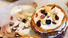 Pancakes με κρέμα τυριού και αμυγδάλου – Χρυσές Συνταγές