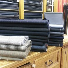Nice selection of new suitings just in! #kellymenswear #longford #ireland #tailoring #menswear #fashion #suits #bespoke