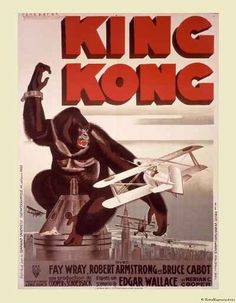 KING KONG French movie Poster