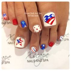 Fourth Of July Toe Nail Designs Pictures of july toe nails art designs ideas 2019 Fourth Of July Toe Nail Designs. Here is Fourth Of July Toe Nail Designs Pictures for you. Fourth Of July Toe Nail Designs ten cute fourth of july toe. Pedicure Designs, Pedicure Nail Art, Diy Nail Designs, Toe Nail Art, Pedicure Ideas, Nail Ideas, Mani Pedi, Cute Toe Nails, Diy Nails