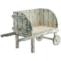 Would make a cute garden seat!