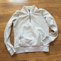 Pink Sweatshirt size S Light grey PINK sweatshirt. Size small   No trades thanks!! PINK Victoria's Secret Other